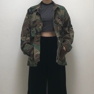 Urban Outfitters Renewal Camo Jacket